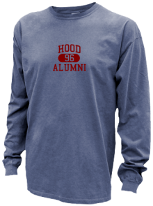Hood Junior High School Pigment Dyed Shirts