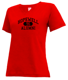 Hopewell Junior High School V-neck Shirts
