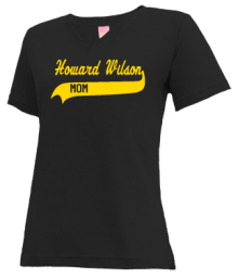 Howard Wilson Elementary School  V-neck Shirts