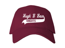 Hugh B Bain Junior High School Baseball Caps