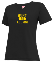 Hunt Middle School  V-neck Shirts