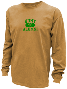 Hunt Middle School  Pigment Dyed Shirts