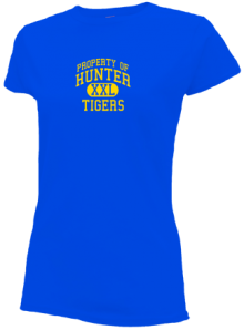 Hunter Elementary School  Slimfit T-Shirts