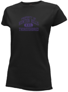 Hunter Hills Elementary School  Slimfit T-Shirts