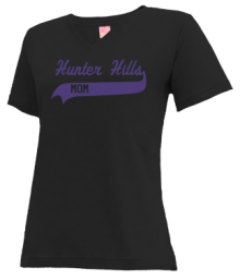 Hunter Hills Elementary School  V-neck Shirts