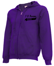 I B Perrine Elementary School  Zip-up Hoodies