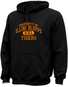 Illini Bluffs Elementary School  Hoodies