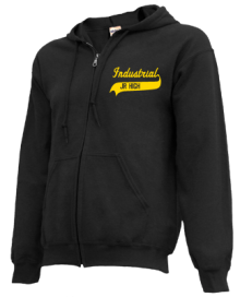 Industrial Junior High School Zip-up Hoodies