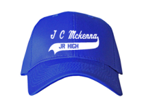 J C Mckenna Middle School  Baseball Caps
