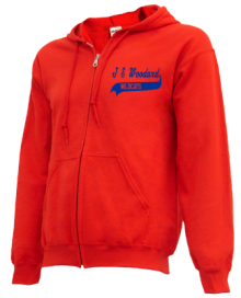 J E Woodard Elementary School  Zip-up Hoodies
