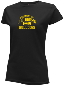 J H Brown Elementary School  Slimfit T-Shirts