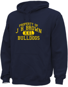 J H Brown Elementary School  Hoodies