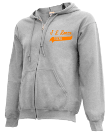 J L Lomax Elementary School  Zip-up Hoodies