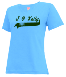 J O Kelly Middle School  V-neck Shirts