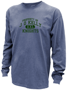 J O Kelly Middle School  Pigment Dyed Shirts