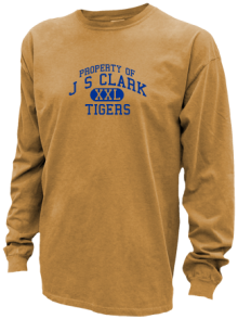J S Clark Middle School  Pigment Dyed Shirts