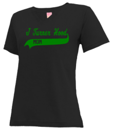 J Turner Hood Elementary School  V-neck Shirts