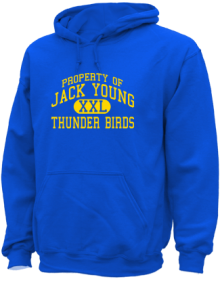 Jack Young Middle School  Hoodies