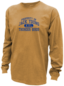 Jack Young Middle School  Pigment Dyed Shirts
