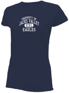 Jacks Valley Elementary School  Slimfit T-Shirts