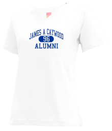 James A Caywood Elementary School  V-neck Shirts