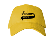 Jarman Junior High School Baseball Caps