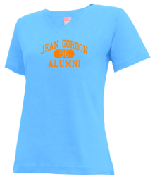 Jean Gordon Elementary School  V-neck Shirts