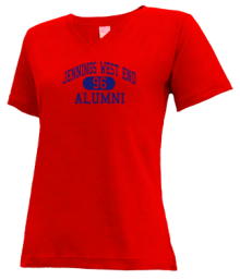 Jennings West End Elementary School  V-neck Shirts