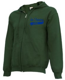 John C Vanderburg Elementary School  Zip-up Hoodies