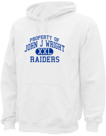 John J Wright Middle School  Hoodies