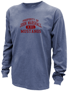 John Marshall Middle School  Pigment Dyed Shirts