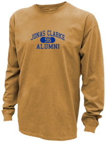 Jonas Clarke Middle School  Pigment Dyed Shirts