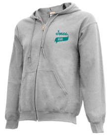 Jones Junior High School Zip-up Hoodies