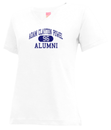 Junior High School 43 Adam Clayton Powel  V-neck Shirts