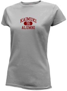 Kaimuki Intermediate School  Slimfit T-Shirts