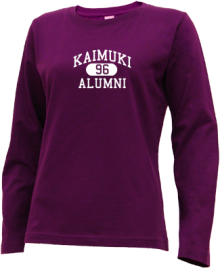 Kaimuki Intermediate School  Long Sleeve Shirts