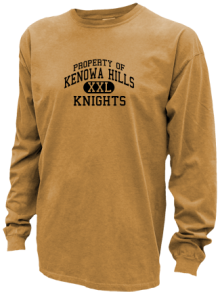 Kenowa Hills Middle School  Pigment Dyed Shirts