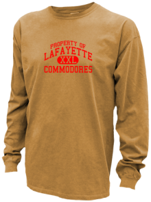 Lafayette Middle School  Pigment Dyed Shirts