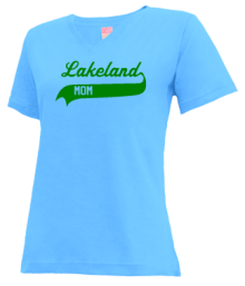 Lakeland Elementary School  V-neck Shirts