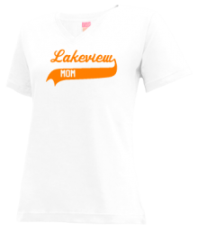 Lakeview Elementary School  V-neck Shirts
