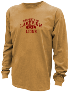Lakeview Elementary School  Pigment Dyed Shirts
