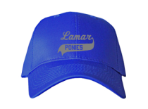 Lamar Junior High School Baseball Caps