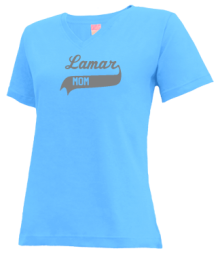 Lamar Junior High School V-neck Shirts