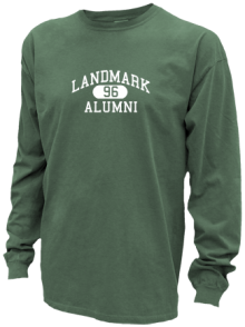 Landmark Middle School  Pigment Dyed Shirts