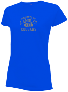 Langley Middle School  Slimfit T-Shirts