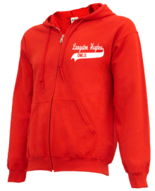 Langston Hughes Elementary School  Zip-up Hoodies