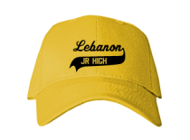 Lebanon Junior High School Baseball Caps