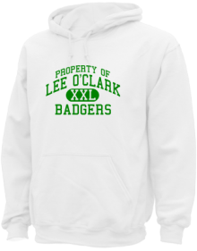 Lee O'clark Elementary School  Hoodies