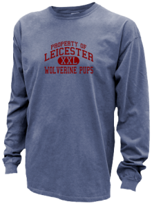 Leicester Middle School  Pigment Dyed Shirts