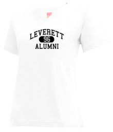 Leverett Elementary School  V-neck Shirts